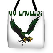 Eagles Vs Dallas Tote Bag