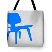 Eames Blue Chair Tote Bag by Naxart Studio