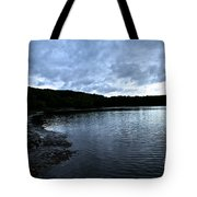 Early Am Shoreline Tote Bag