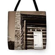 Early American House Tote Bag by Douglas Barnett