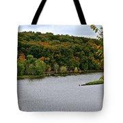Early Autumn Shoreline Tote Bag