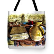 Early Colonial Still Life Tote Bag