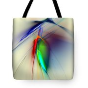 Early Death Of A Tulip Tote Bag