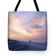 Early Evening Beach Walk Tote Bag