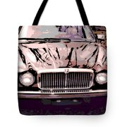 Early Jaguar Xj6 Tote Bag