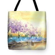 Early Morning 26 Tote Bag