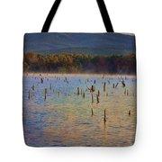 Early Morning Color Of Lake Wilhelmina-arkansas Tote Bag