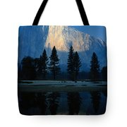 Early Morning View Of El Capitan Tote Bag