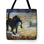 Early Morning's Light Tote Bag