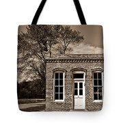 Early Office Building Tote Bag