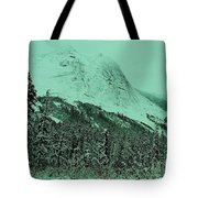 Early Snow In The Mountains  Tote Bag