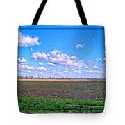 Early Spring Farmland Tote Bag