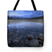 Early Summer Morning On Patricia Lake Tote Bag