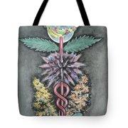 Earth Angel Tote Bag by Carla Carson