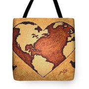 Earth Day Gaia Celebration Digital Art Tote Bag