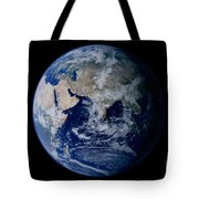 Earth From Space Showing Eastern Tote Bag