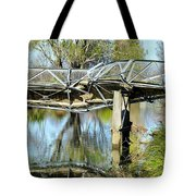 Earthquake Contortions Tote Bag