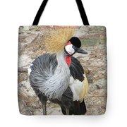 East African Crowned Crane  Tote Bag