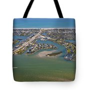 East Coast Aerial Tote Bag