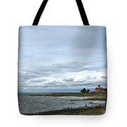 East Point Light Still Shines  Tote Bag