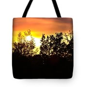 East Texas Sunset Tote Bag
