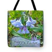 Easter Card - Virginia Bluebells Tote Bag