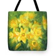 Easter Daffodils Tote Bag