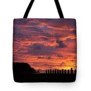 Easter Island Tote Bag