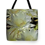 Easter Lily Cactus Bouquet Tote Bag