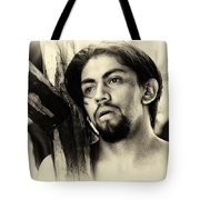 Easter Procession In Mexico Tote Bag