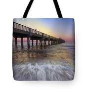 Eastern Glow Tote Bag