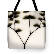 Eastern Influence Fern Tote Bag