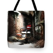Eastern State Penitentiary - Barber's Chair Tote Bag