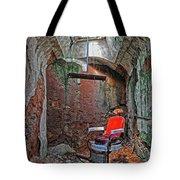 Eastern State Penitentiary Barber Shop Tote Bag