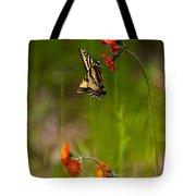 Eastern Tiger Swallowtail Profile Shot Tote Bag