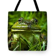 Easy To Be Green Tote Bag