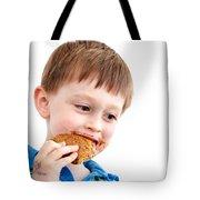 Eating Biscuit Tote Bag