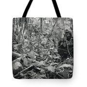 Ebobo, A Male Gorilla, Waits Tote Bag
