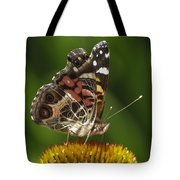 Echinacea Butterfly Meal Tote Bag