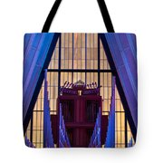 Echo Of The Pipes Tote Bag