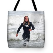 Echoes Of Baywatch Tote Bag