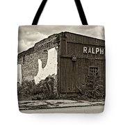 Economics 101...dreams Die Sepia Tote Bag