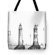 Eddystone Lighthouse Tote Bag
