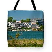 Edgartown Harbor Marthas Vineyard Massachusetts Tote Bag
