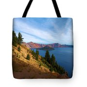 Edge Of The Crater Tote Bag