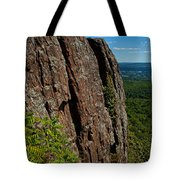 Edge Of The Mountain Tote Bag