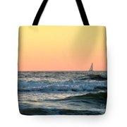 Edge Of The Ocean Tote Bag