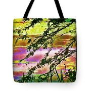 Edge Of The Pond Tote Bag