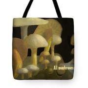 Edible Mushrooms Tote Bag