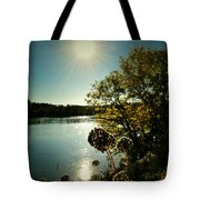 Eds River Valley. Tote Bag